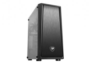 Gabinete Cougar MX340 con Ventana RGB, Midi-Tower, ATX/Micro-ATX/Mini-ITX, USB 3.0/2.0, sin Fuente, Negro