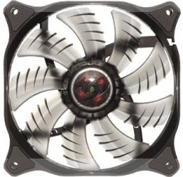 Ventilador Cougar CFD120 LED Blanco, 120mm, 1200RPM, Negro