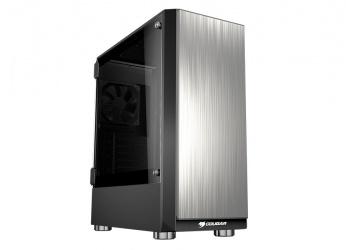 Gabinete Cougar Trofeo con Ventana, Midi-Tower, ATX/EATX/Micro-ATX/Mini-ITX, USB 3.0/2.0, sin Fuente, Aluminio/Negro