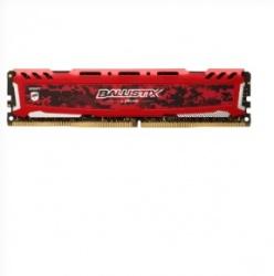 Memoria RAM Crucial Ballistix Sport LT Red DDR4, 2666MHz, 4GB, Non-ECC, CL16