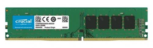 Memoria RAM Crucial DDR4, 2400MHz, 4GB, Non-ECC, CL17, Single Rank x8