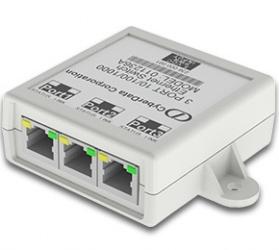 Switch CyberData Gigabit Ethernet 011236, 2x 10/100/1000Mbps