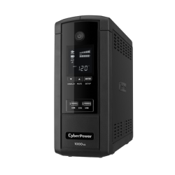 No Break CyberPower BRG1000AVRLCD, 600W, 1000VA, Entrada 90-148V, 10 Contactos