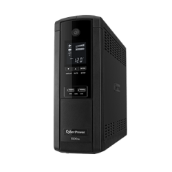 No Break CyberPower BRG1500AVRLCD Line Interactive, 900W, 1500VA, Entrada 90-148V, 12 Contactos