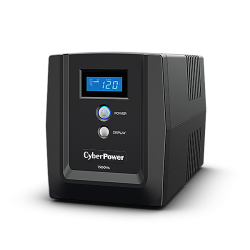 No Break CyberPower CyberEnergy OM1500ATLCD, 1500VA, Entrada 82-148V, 8 Contactos