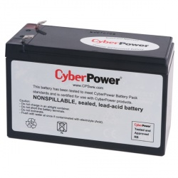 CyberPower Batería de Reemplazo para UPS RB1280, 12V, 8Ah
