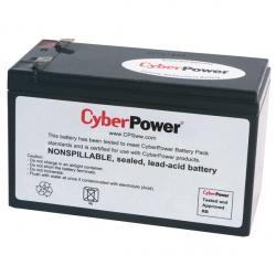 CyberPower Cartucho de Baterías de Reemplazo RB1280A, 12V, 8Ah