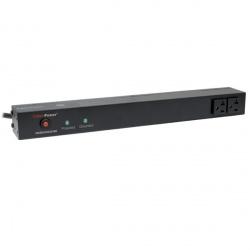 CyberPower Supresor de Picos RKBS20S2F8R, 10 Contactos, 1800 Joules