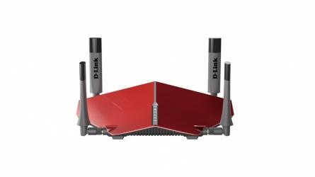 Router D-Link Gigabit Ethernet AC3150, Inalámbrico, 3167 Mbit/s, 2.4/ 5GHz, 4x RJ-45, 4 Antenas ― ¡Optimizado para Gaming!