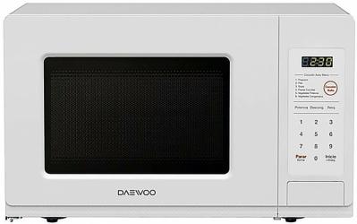 Daewoo Horno de Microondas KOR-6LCW, 600W, 19.82 Litros, Blanco