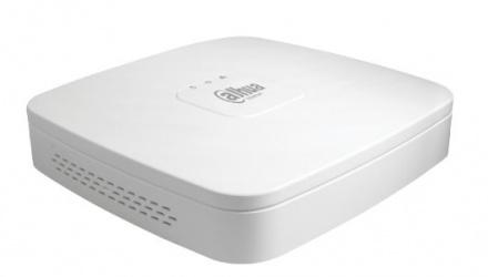 Dahua DVR de 4 Canales XVR4108C-S2 para 1 Disco Duro, máx. 8TB, 2x USB 2.0, 1x RJ-45