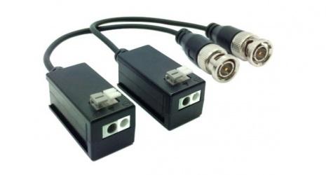 Dahua Kit Transceptor Pasivo de Video PFM800, BNC-M Macho - Push-Termina Hembra, 1920 x 1080 Pixeles