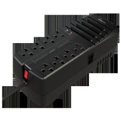 Regulador DataShield RAD2000, 2000VA, 1000W, 8 Salidas