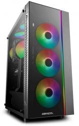 Gabinete Deepcool MATREXX 55 ADD-RGB con Ventana, Midi-Tower, ATX/EATX/Micro ATX/Mini-ITX, USB 2.0/3.0, sin Fuente, Negro