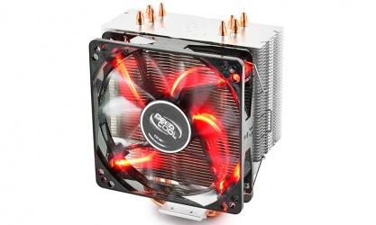 Disipador CPU DeepCool GAMMAXX 400, 120mm, 900 - 1500RPM, Negro