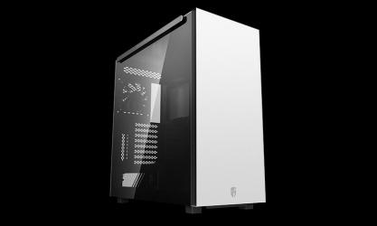 Gabinete DeepCool MACUBE 550 con Ventana, Tower, ATX/Micro ATX/Mini-ITX, USB 3.0, sin Fuente, Blanco
