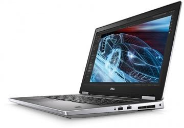 "Laptop Dell Precision Movil 17 7740 17.3"" Full HD, Intel Core i9-9880HK 2.40GHz, 32GB, 512GB SSD, Radeon Pro WX 7130, Windows 10 Pro, Plata/Negro"
