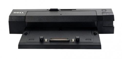 Dell Docking Station E-Port Plus Avanzado, 3x USB 2.0, 2x USB 3.0, 1x RJ-45, para Latitude