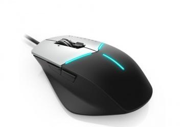 Mouse Dell Láser AW558 Óptico, Alámbrico, USB, 5000DPI, Negro/Plata