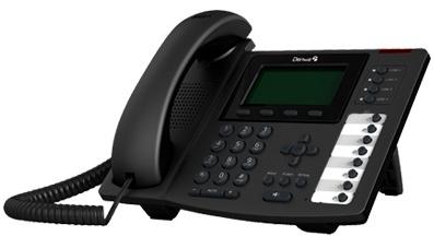 Denwa Teléfono IP DW-610P, Pantalla LCD, 4 Líneas, 8 Teclas Programables