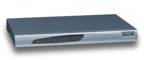 Denwa Gateway para Teléfono IP FXS024, 24x FXS, 1x RJ-45