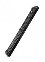 Derrant Organizador Vertical de Cables para Rack, 42U, Negro