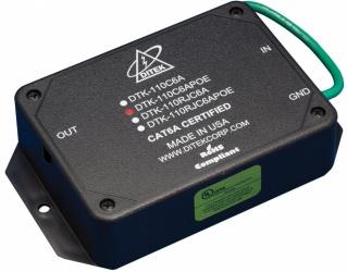 Ditek Protector PoE DTK-110C6APOE, Gigabit Ethernet, Salida con Terminales de Clip
