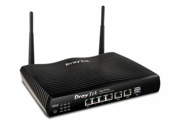 Router Draytek Ethernet Firewall Vigor2926VAC, Inalámbrico, 1733Mbit/s, 4x RJ-45, 2.4/5GHz, 2 Antenas Externas