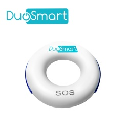 DuoSmart Botón de Pánico CPM1, Alámbrico, Blanco