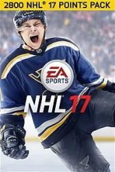 NHL 17, 2800 Puntos,  Xbox One ― Producto Digital Descargable