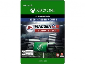 Madden NFL 18 Ultimate Team, 12000 Puntos, Xbox One ― Producto Digital Descargable