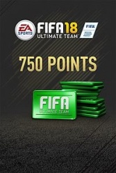 FIFA 18 Ultimate Team, 750 Puntos, Xbox One ― Producto Digital Descargable