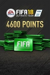 FIFA 18 Ultimate Team, 4600 Puntos, Xbox One ― Producto Digital Descargable