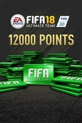 FIFA 18 Ultimate Team, 12.000 Puntos, Xbox One ― Producto Digital Descargable