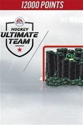 NHL 18 Ultimate Team, 12.000 Puntos, Xbox One ― Producto Digital Descargable
