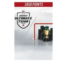NHL 18 Ultimate Team, 5850 Puntos, Xbox One ― Producto Digital Descargable