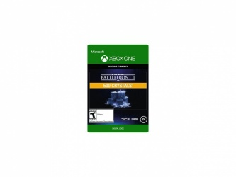 Star Wars Battlefront II, 500 Crystals, Xbox One ― Producto Digital Descargable