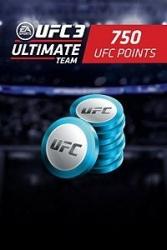 UFC 3, 750 Puntos, Xbox One ― Producto Digital Descargable