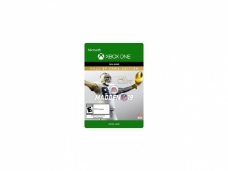 Madden NFL 19: Hall of Fame Edition, Xbox One ― Producto Digital Descargable