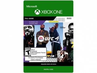 UFC 4 Standard Edition, Xbox One ― Producto Digital Descargable