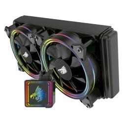 Eagle Warrior CYCLONE Enfriamiento Líquido para CPU, 2x 120mm, 800 - 2000RPM