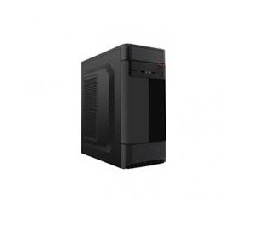 Gabinete Eagle Warrior CX 91T4, Midi Tower, ATX, USB 2.0/3.0, con Fuente de 450W, Negro