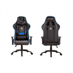 Eagle Warrior Silla Gamer Valhalla, 150Kg, Negro/Azul
