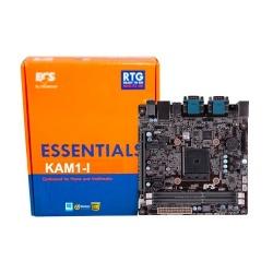 Tarjeta Madre ECS mini ITX KAM1-I, S-AM1, HDMI, 16GB DDR3, para AMD