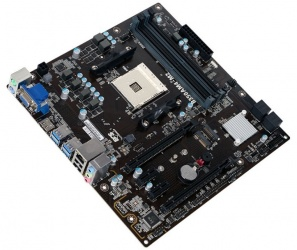 Tarjeta Madre ECS microATX B350AM4-M2, S-AM4, AMD B350, HDMI, 64GB DDR4 para AMD