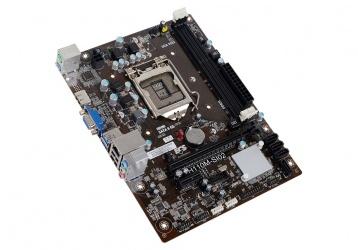 Tarjeta madre ECS Micro ATX H110M-SI02, S-1151, Intel H110, HDMI, 32GB DDR3 para Intel