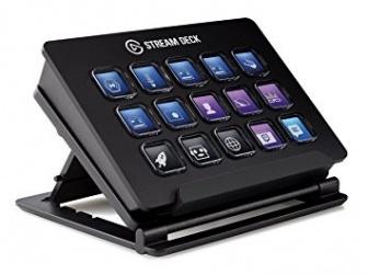Teclado Elgato Stream Deck, 15 Teclas, Alámbrico, USB, Negro