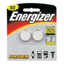Energizer Pila de Botón Desechable, 3V, 2 Piezas