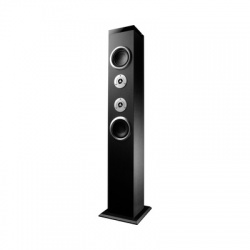 Energy Sistem Bocina Tower 3, Bluetooth, Inalámbrico, 40W RMS, USB 2.0, Negro