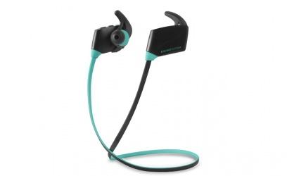 Energy Sistem Audífonos Intrauriculares Deportivos con Micrófono Sport, Inalámbrico, Bluetooth, Negro/Menta
